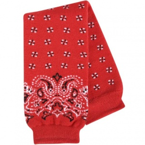 BABYLEGS Leg Warmers - Red Bandana