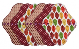 Fairy Hammock - Autumn Leaves 6 Pack