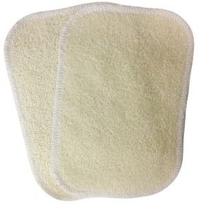 Washable Wipes - 10 ORGANIC Cotton Towelling (Ecru) INSTOCK
