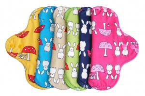 FH - 6 Pack Cotton Tops Bunnies and Toadstool pack - Cup /Teen size INSTOCK