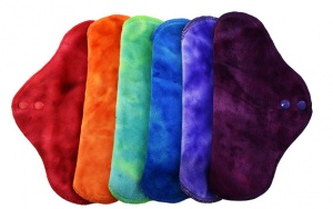 FH - 6 Pack - Heavy Flow INSTOCK Rainbow Gelatoes Plush Fabric