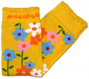 HUGGALUGS Leg Warmers - Sunshine Fields
