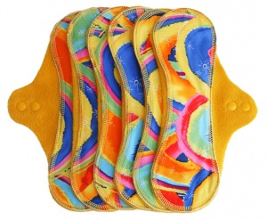 PeaPod - 6 Pack INSTOCK - KF Rainbows on Yellow