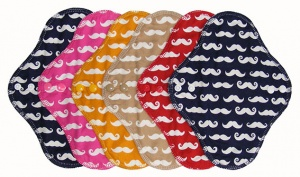 FH - 6 Pack Cotton Tops Moustache - Light Flow INSTOCK