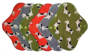 FH - 6 Pack Cotton Tops Sausage Dogs - Light Flow INSTOCK