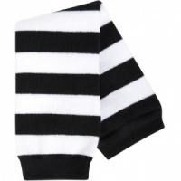 BABYLEGS Leg Warmers - Black and White Stripe