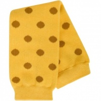 BABYLEGS Leg Warmers - Gold Polka Dot