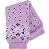 BABYLEGS Leg Warmers - Purple Bandana