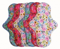 FH - 6 Pack Cotton Tops 60s Flowers- Extra long Wall to Wall Flow INSTOCK