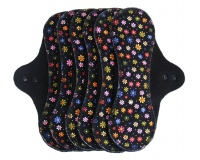 PeaPod - 6 Pack INSTOCK - Bright Daisies on Black XL Light Flow