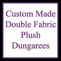 Dungarees - PLUSH (Double Fabric)