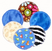 Breast Pads - 6 Pairs for the price of 5 - Mixed Plush and Cotton tops. INSTOCK.