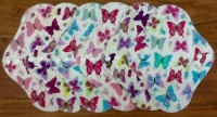 Fairy Hammock - Summer Butterflies - with White PUL backs - 6 PACK