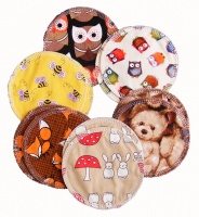Breast Pads - 6 Pairs for the price of 5 - The Animal Pack - INSTOCK