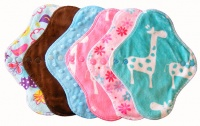 FH - 6 Pack Plush Tops Blue Topaz Giraffe Pack - Light Flow INSTOCK