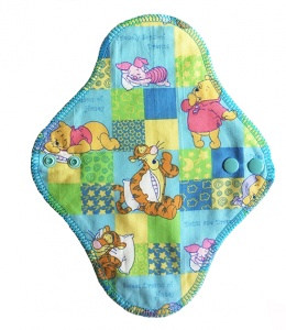 Fairy Hammock - Bears on Blue Check - 100% Cotton woven