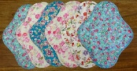 Fairy Hammock - Summer Flowers co-ordinating Top and PUL - 6 PACK