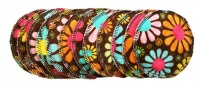 Breast Pads - 6 Pairs for the price of 5 - Flower Child Chocolate - IN STOCK