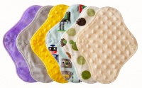FH - 6 Pack Plush Tops Cream Dimple Pack - Light Flow INSTOCK