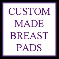Custom Made Wee Notions 3 layer Breast Pads - 1 Pair