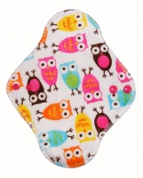 Fairy Hammock - Pink and Turquoise Owls Plush Fabric