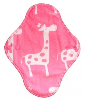 Fairy Hammock - Paris Pink Giraffe Plush Fabric